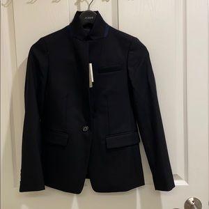 JCrew black regent wool blazer in 4 season stretch